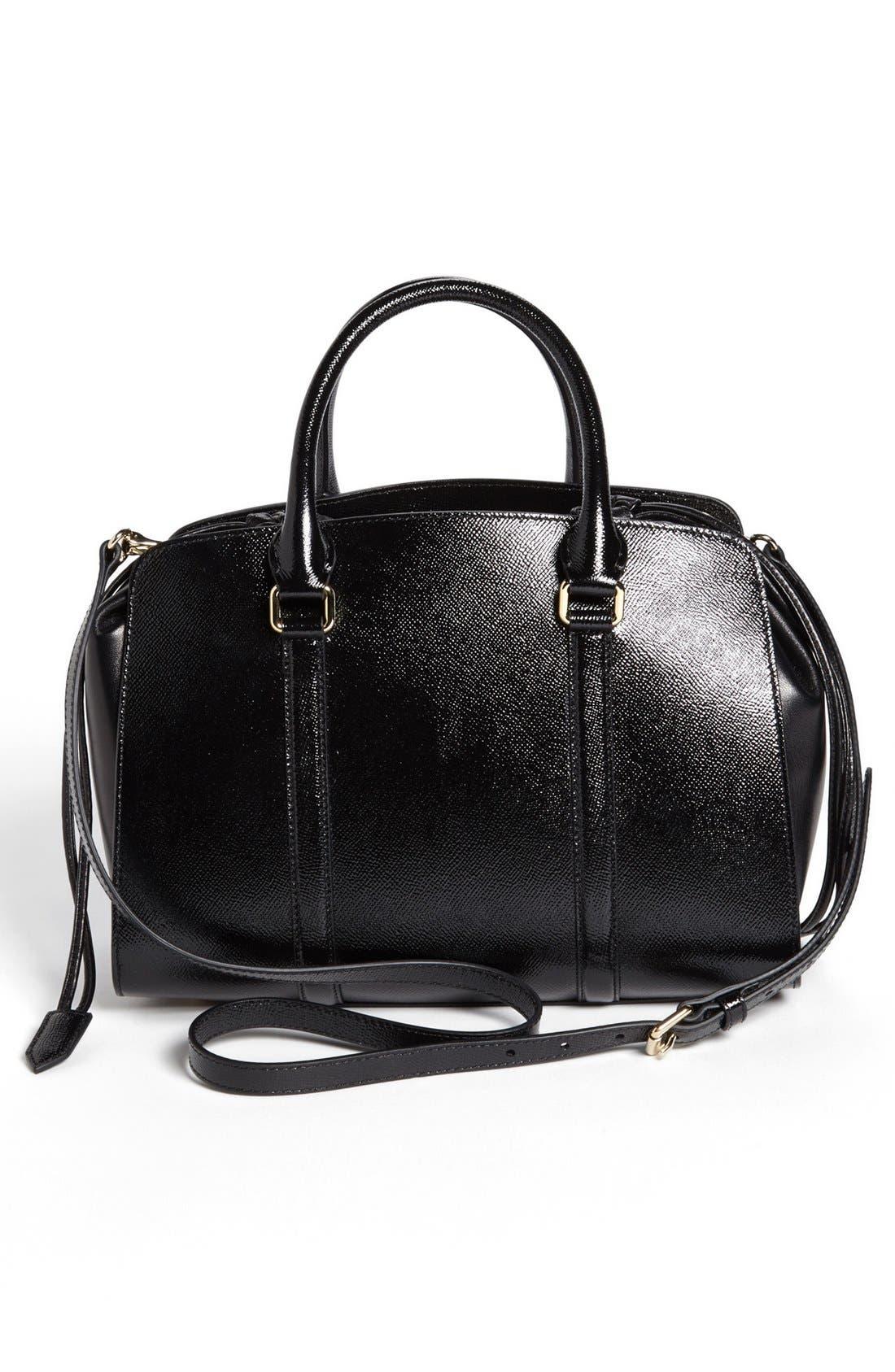 Alternate Image 4  - Burberry Prorsum 'Small Dinton' Leather Satchel