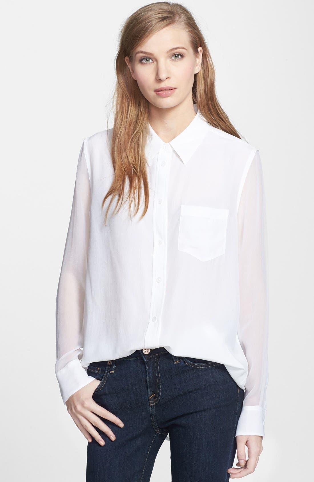 Alternate Image 1 Selected - Equipment 'Reese' Silk Shirt
