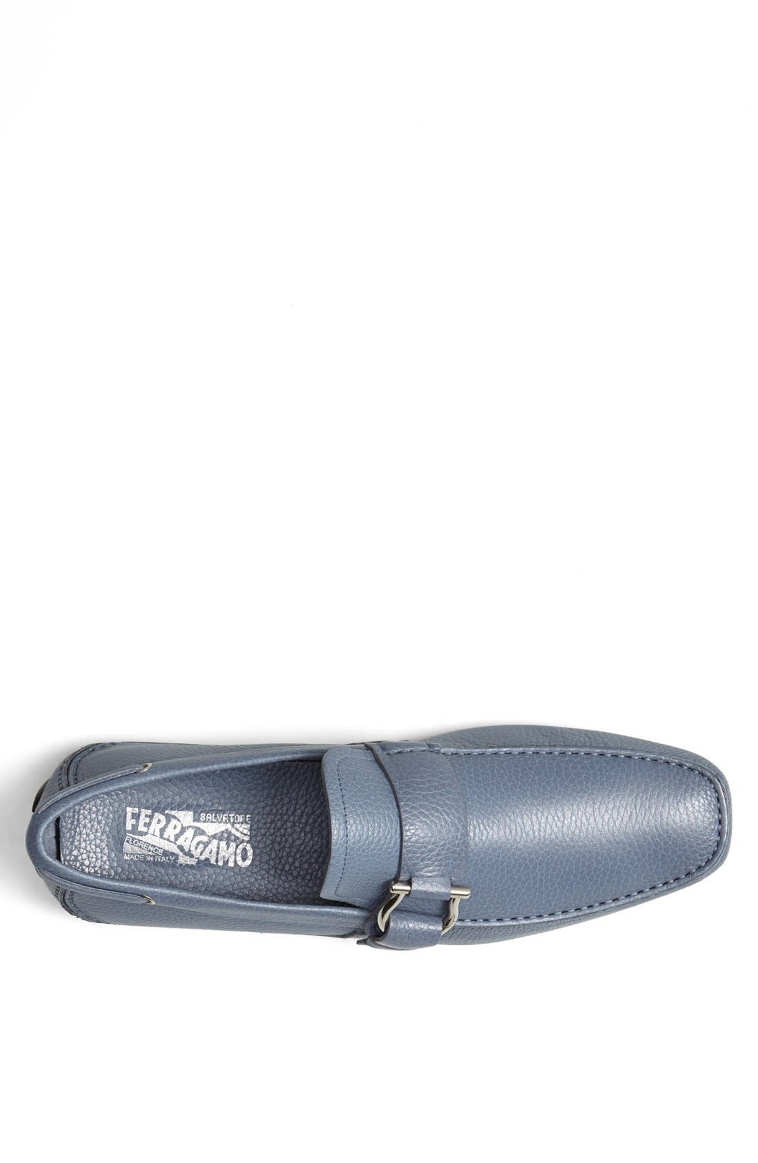 Alternate Image 3  - Salvatore Ferragamo 'Cabo 2' Driving Shoe