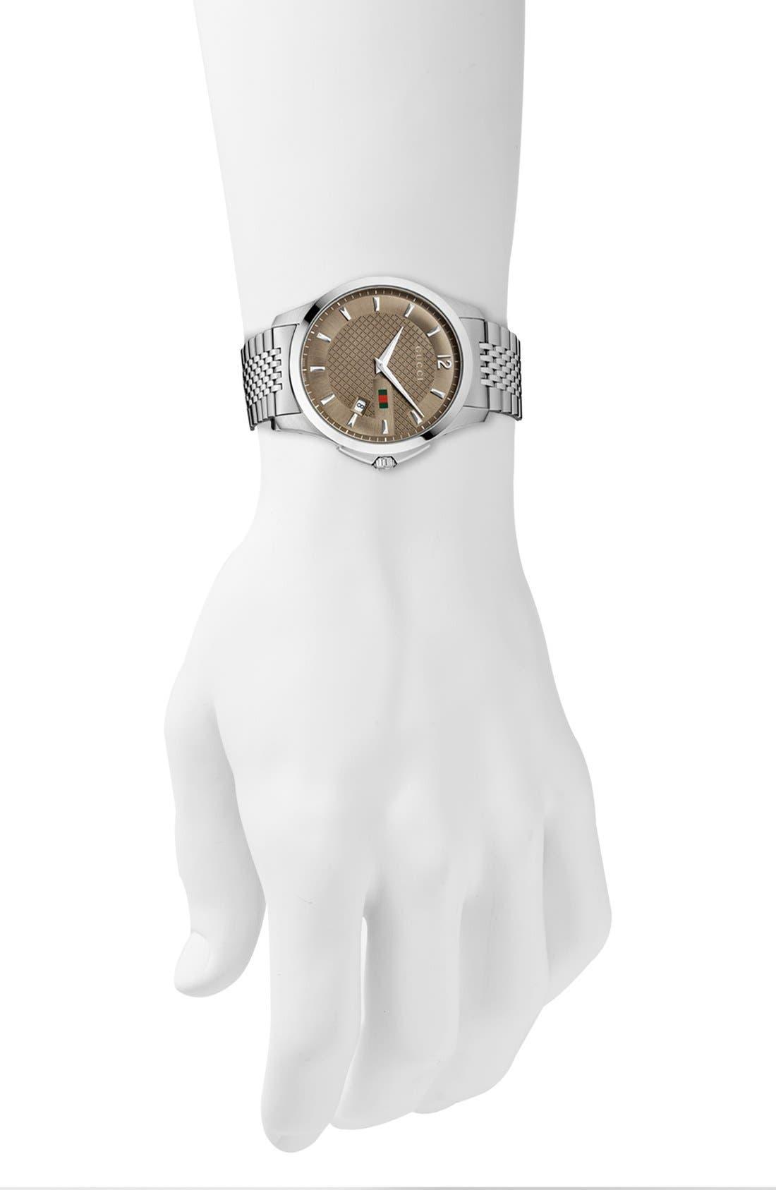 Alternate Image 2  - Gucci 'G-Timeless' Bracelet Watch, 40mm