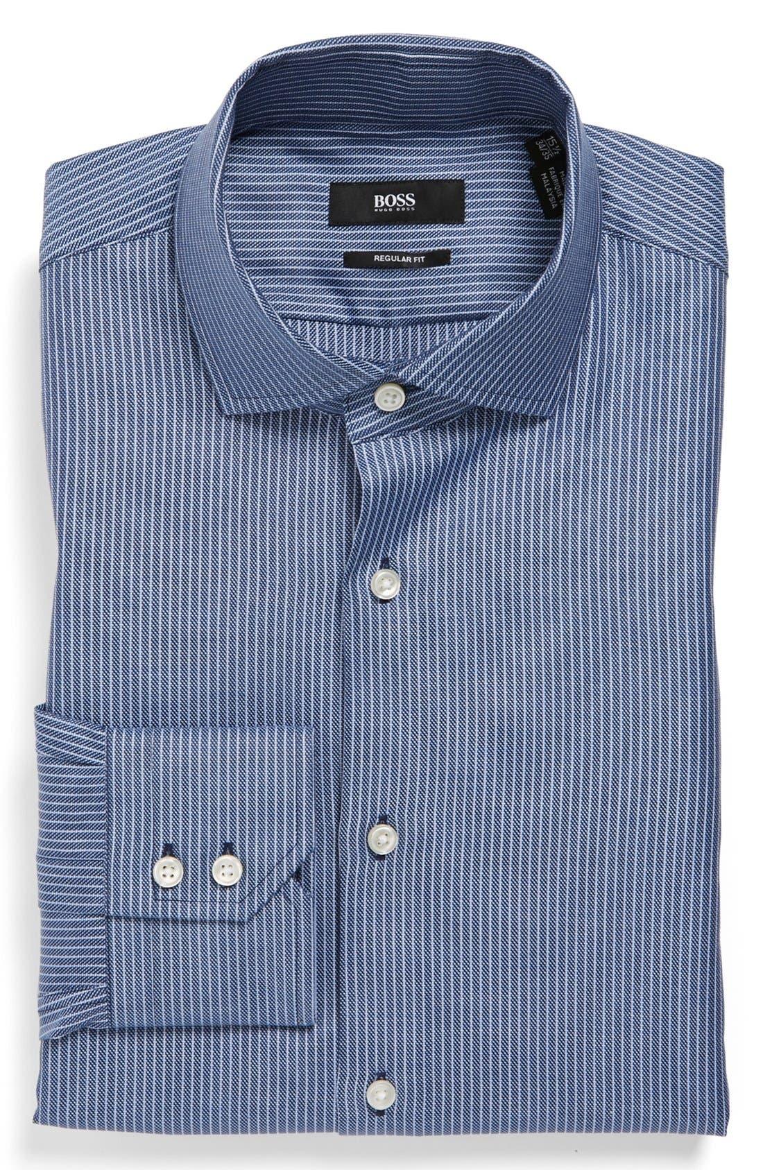 Alternate Image 1 Selected - BOSS HUGO BOSS 'Gordon' US Regular Fit Dress Shirt