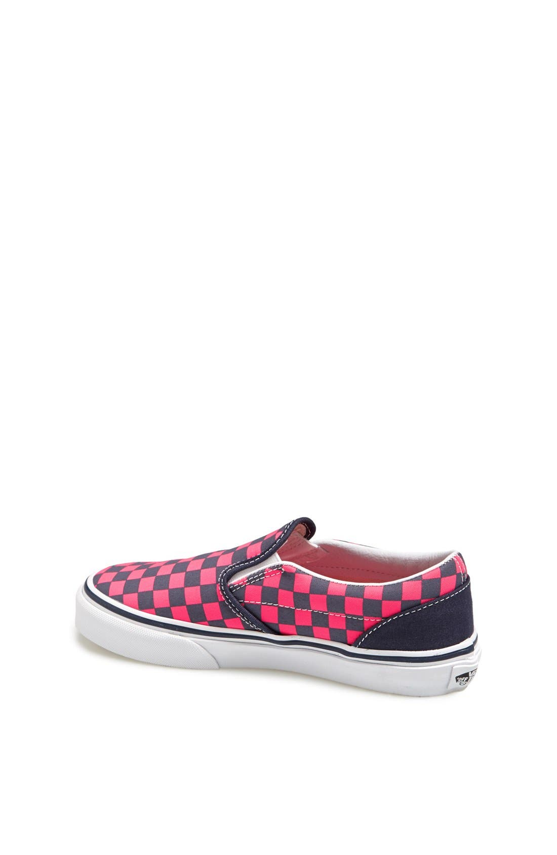 Alternate Image 2  - VANS CLASSIC SLIP ON CHECKERBOARD SNEAKER
