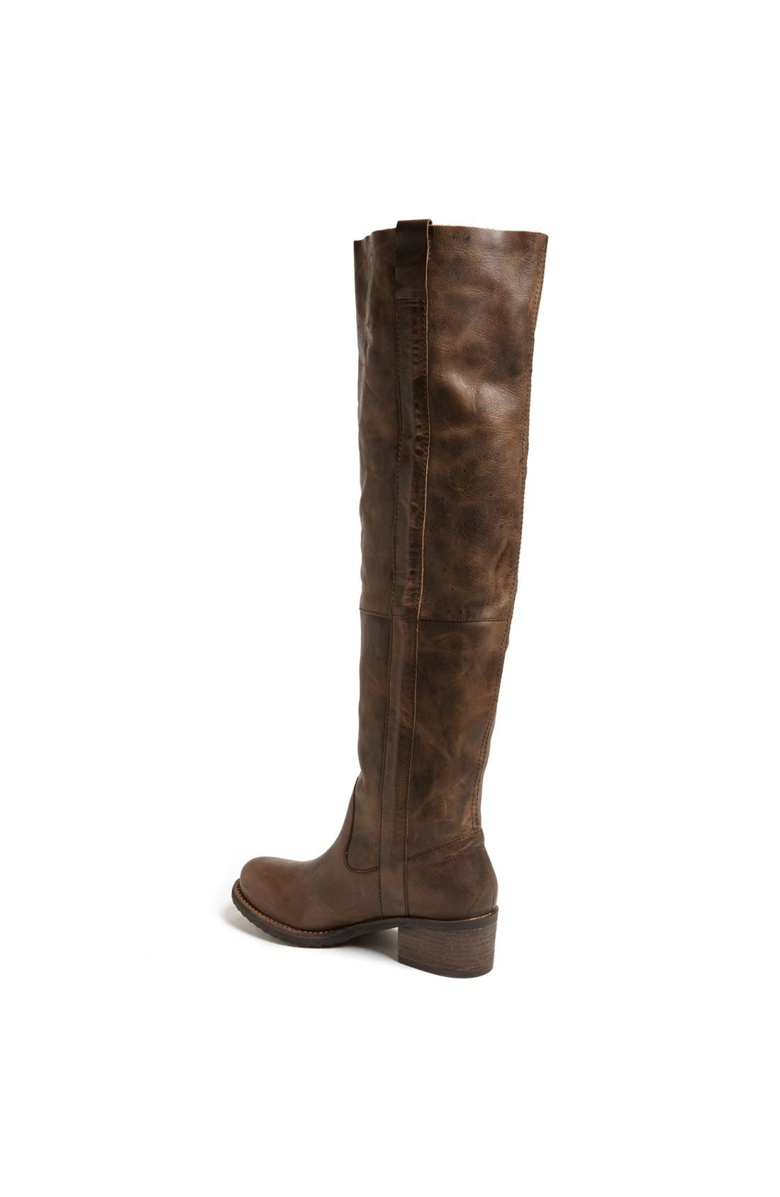 Alternate Image 2  - Steve Madden 'Maisie' Leather Over the Knee Boot
