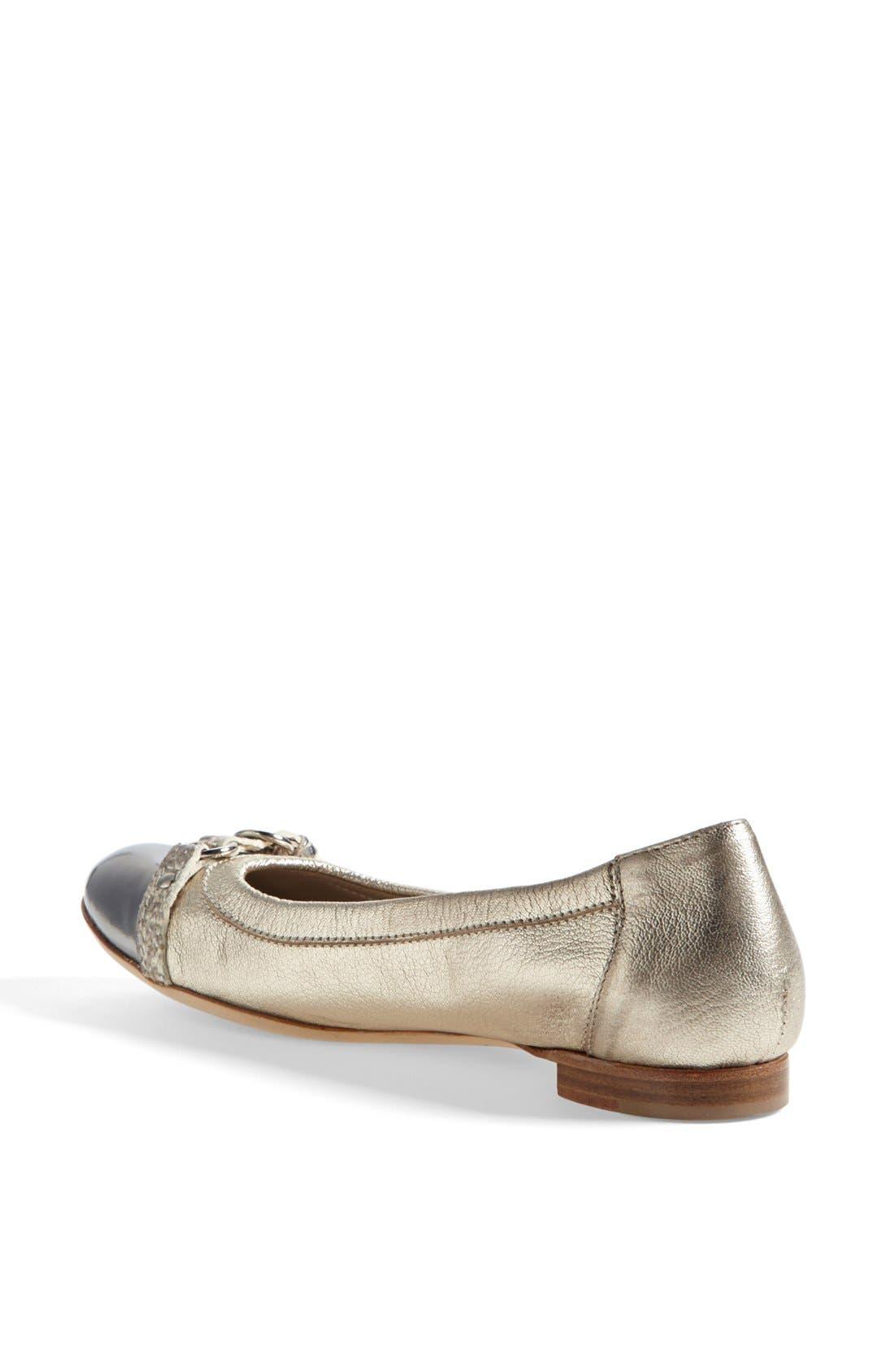 Alternate Image 2  - Attilio Giusti Leombruni Toe Cap Ballet Flat