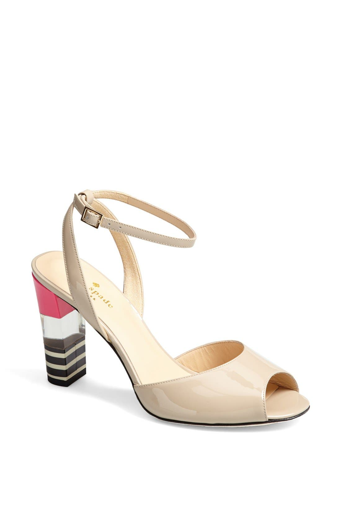 Main Image - kate spade new york 'ice' leather sandal
