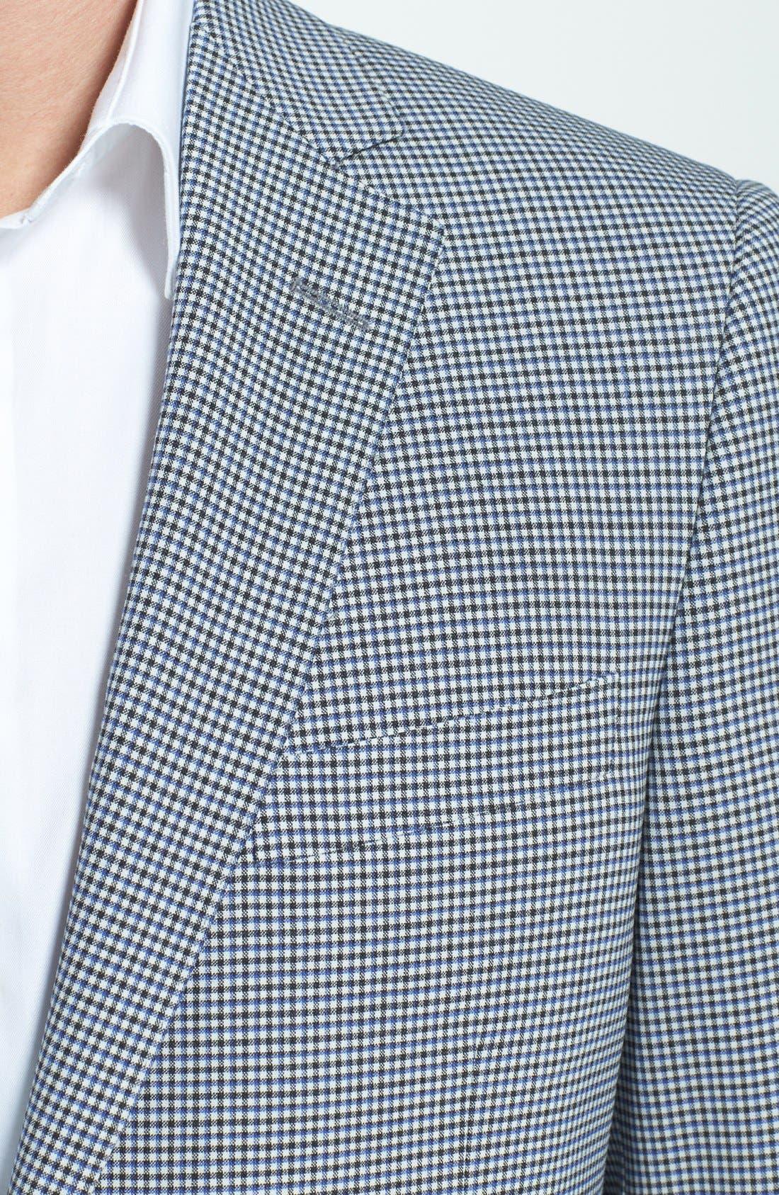 Alternate Image 3  - Samuelsohn Classic Fit Check Sportcoat