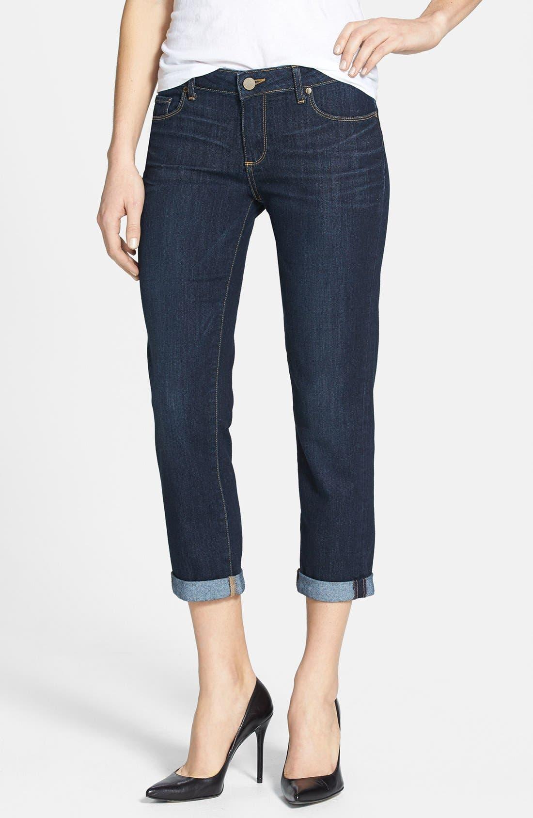 Main Image - Paige Denim 'Jimmy Jimmy' Crop Skinny Jeans (Highland)