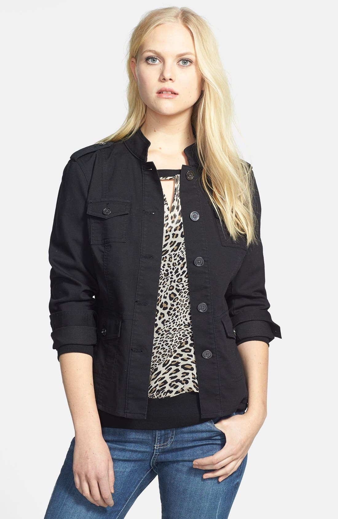 Alternate Image 1 Selected - Two by Vince Camuto Four Pocket Utility Jacket