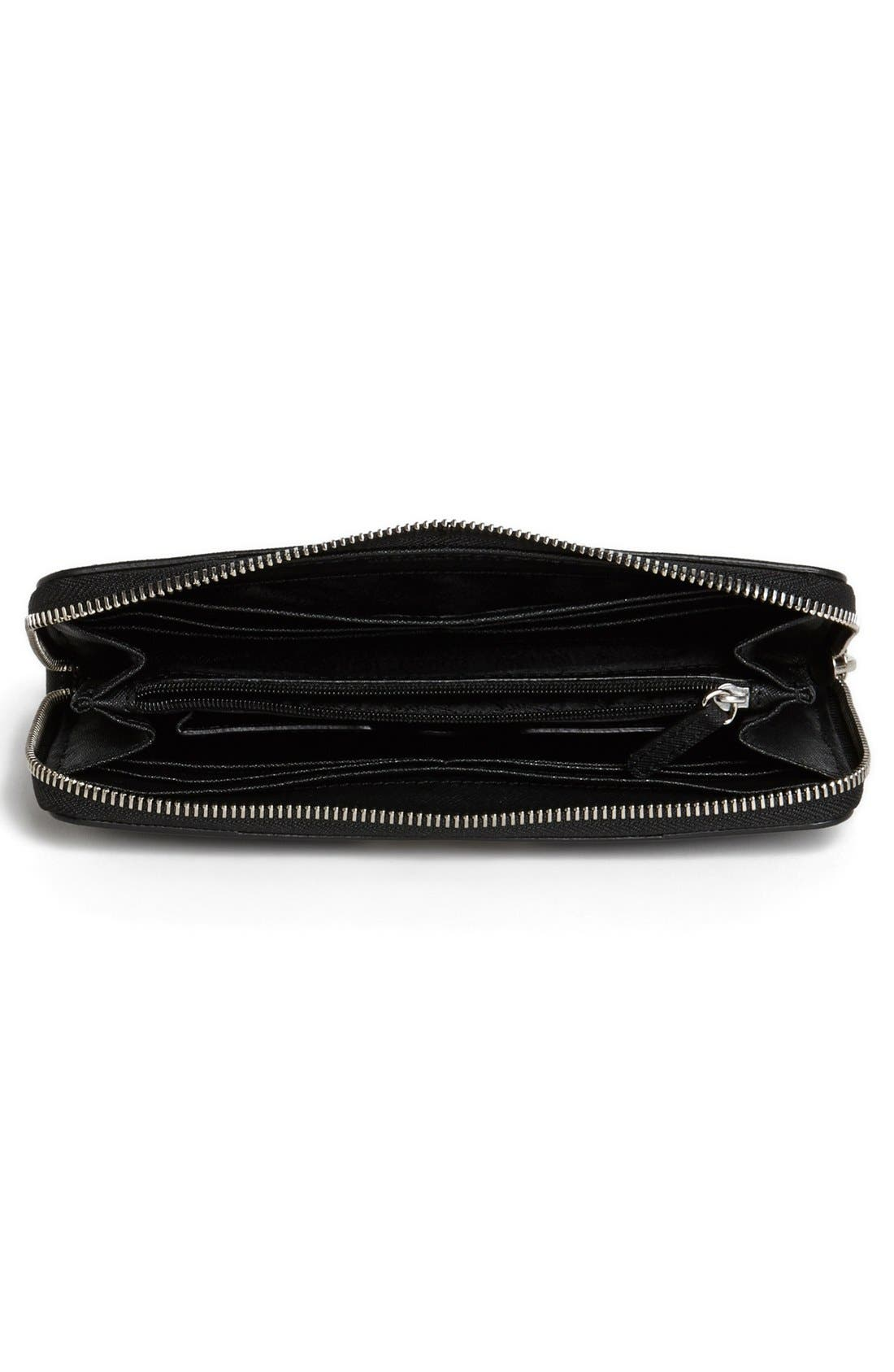 Alternate Image 3  - MICHAEL Michael Kors 'Tech Continental' Leather Wallet