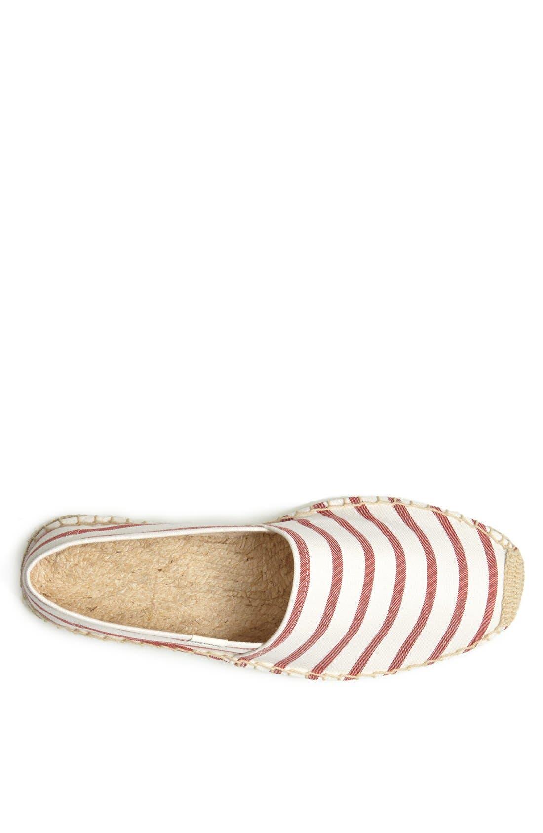 Alternate Image 3  - Soludos Breton Stripe Espadrille Slip-On (Men)