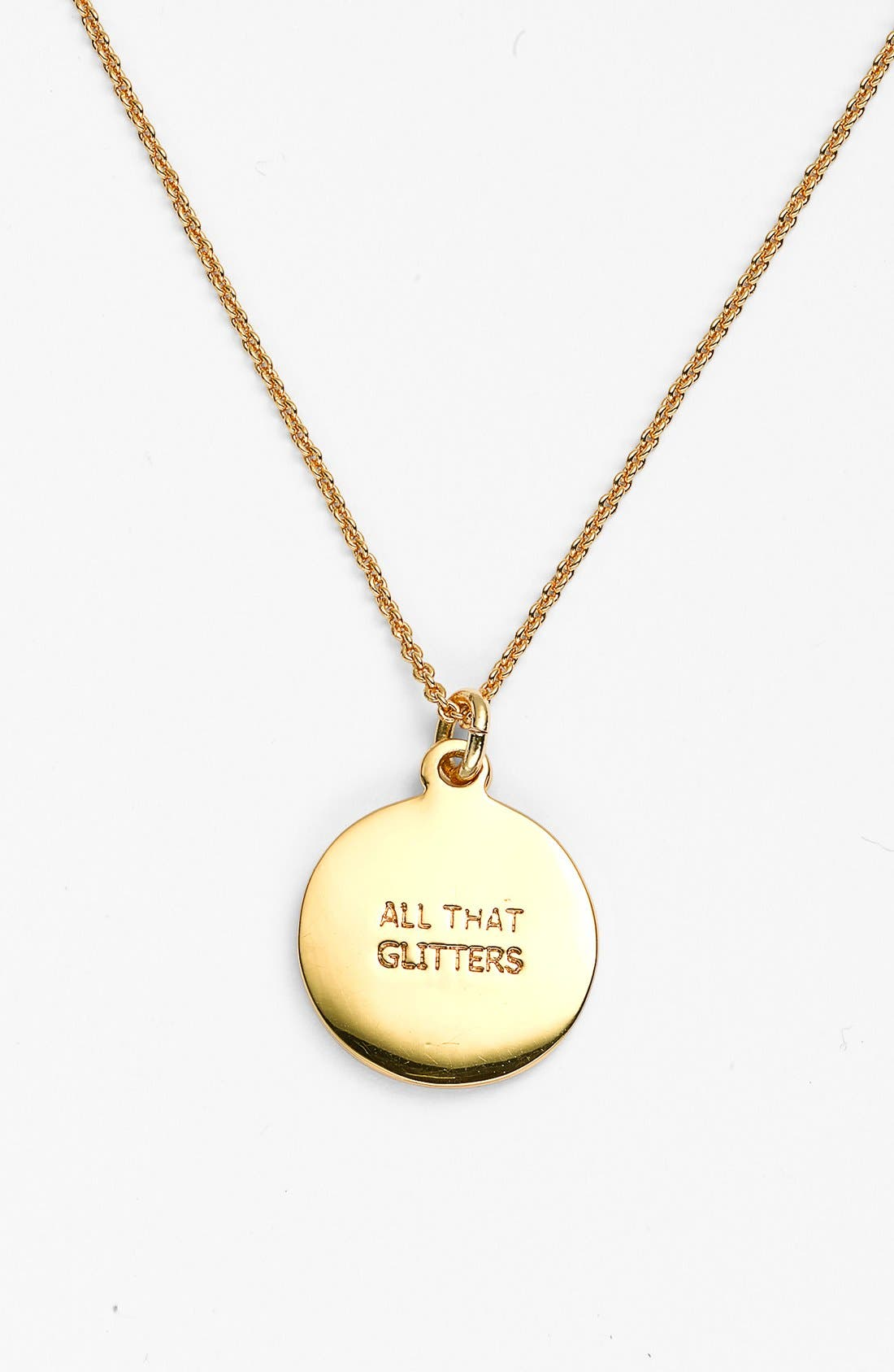 Alternate Image 2  - kate spade new york 'idiom - all that glitters' boxed pavé pendant necklace