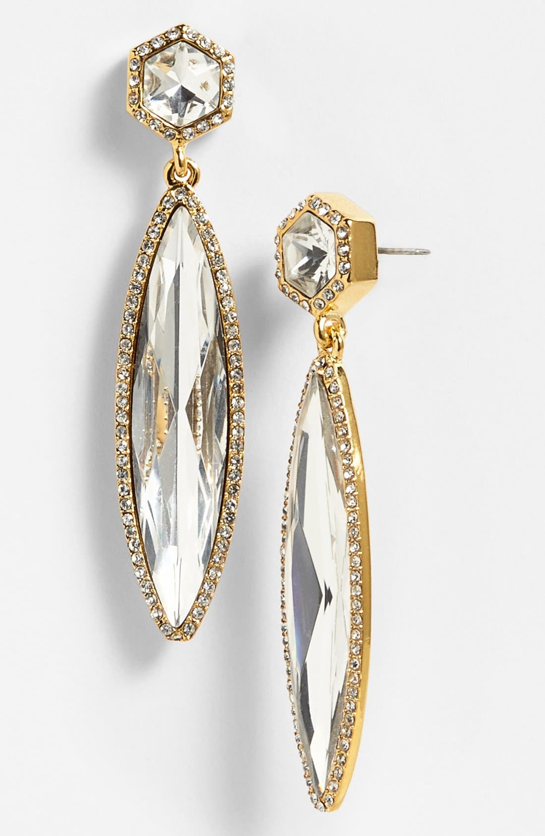 Alternate Image 1 Selected - Vince Camuto 'Diamonds in the Sky' Crystal Drop Earrings