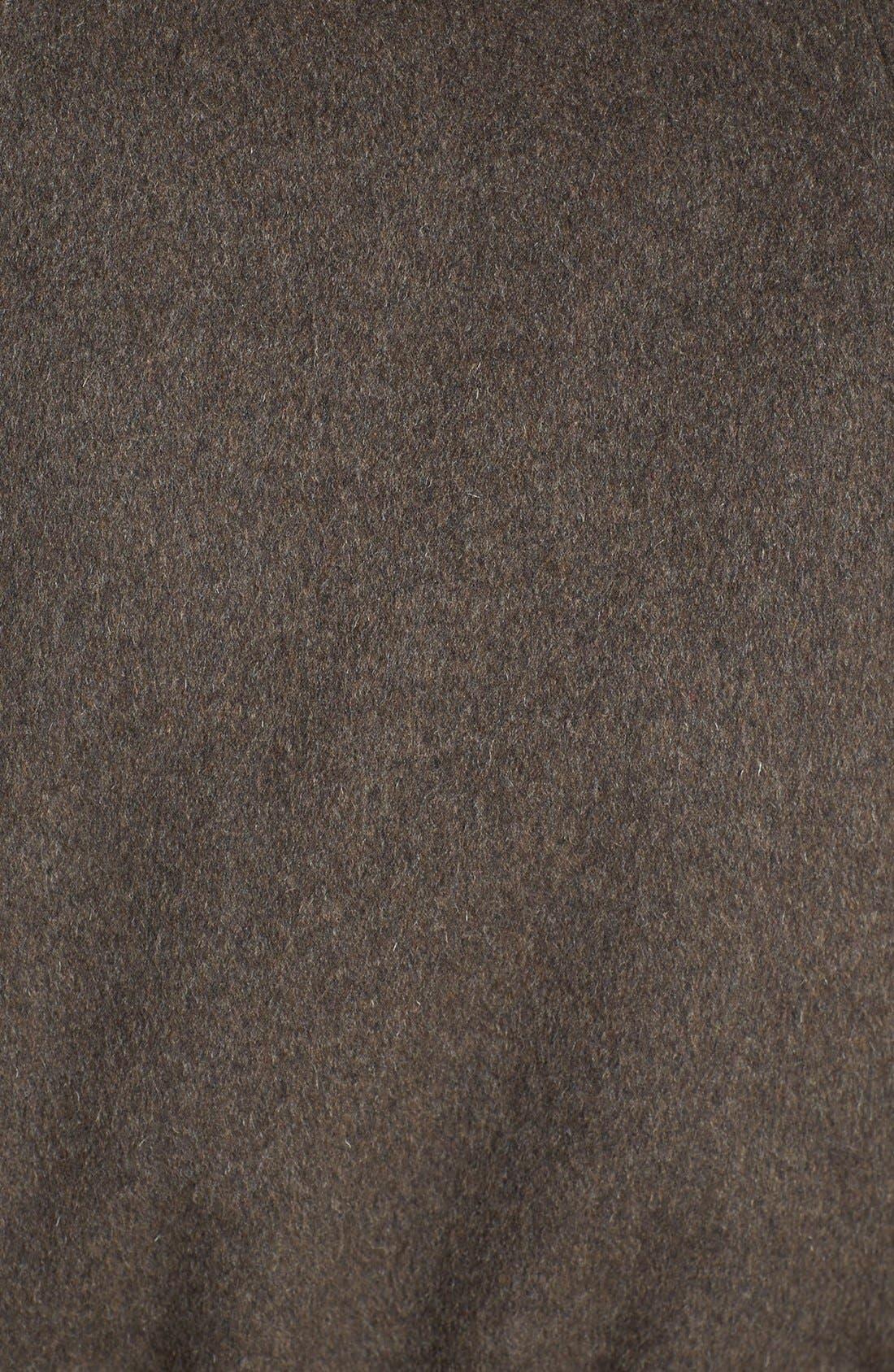 Alternate Image 3  - Ellen Tracy Faux Fur Trim Belted Cape