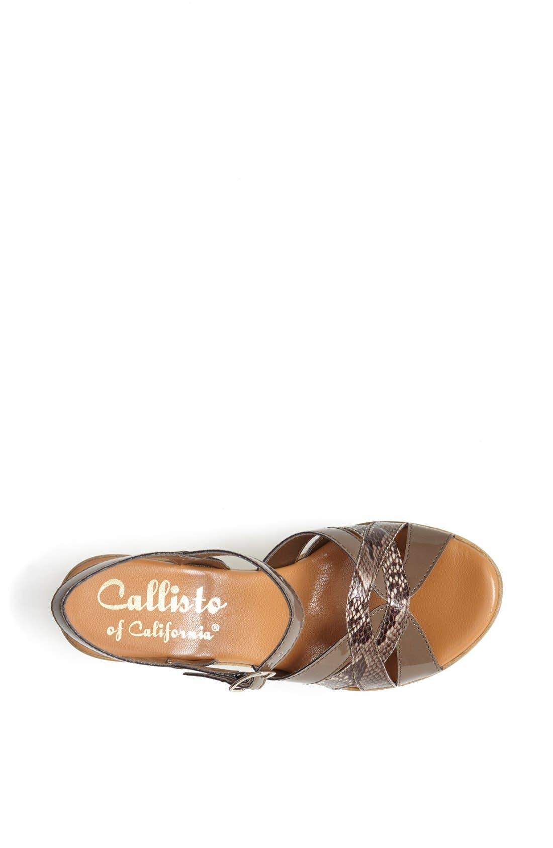 Alternate Image 3  - Callisto 'Eliza' Sandal