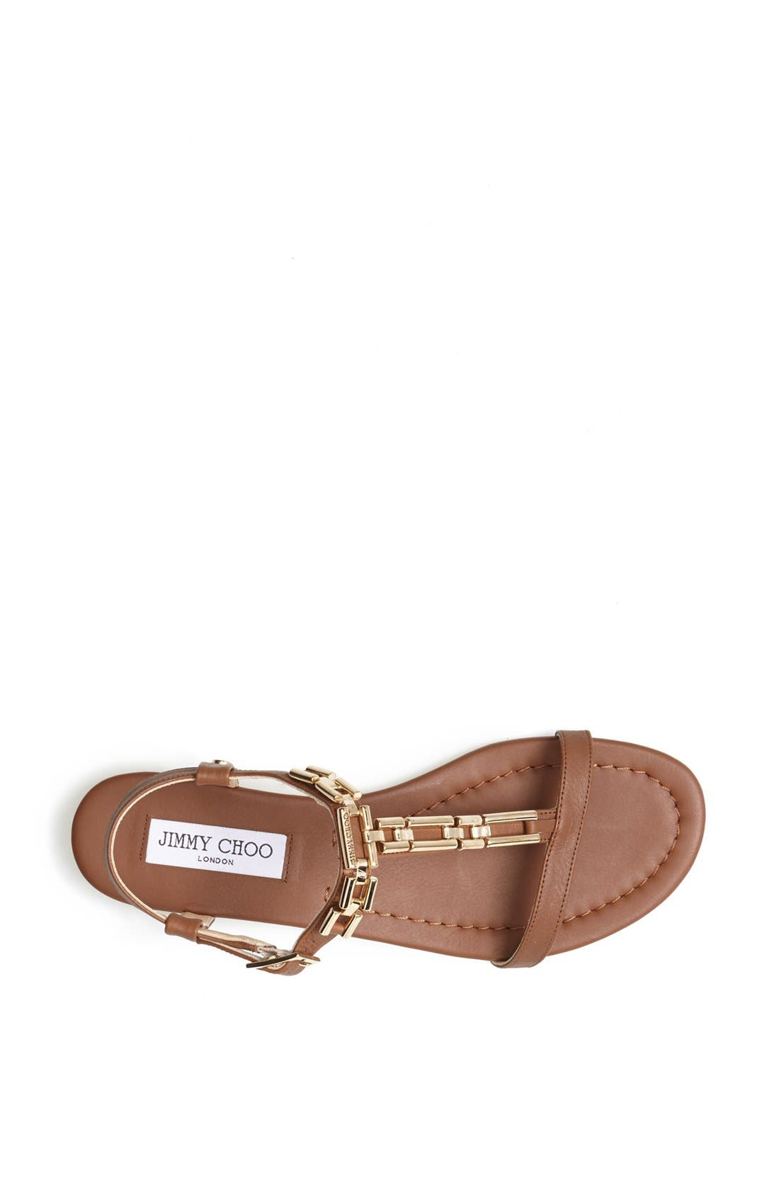Alternate Image 3  - Jimmy Choo 'Narcissa' Chain T-Strap Sandal
