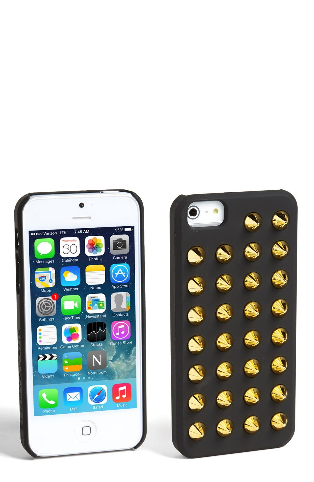 Alternate Image 1 Selected - Felony Case Studded iPhone 5 & 5s Case