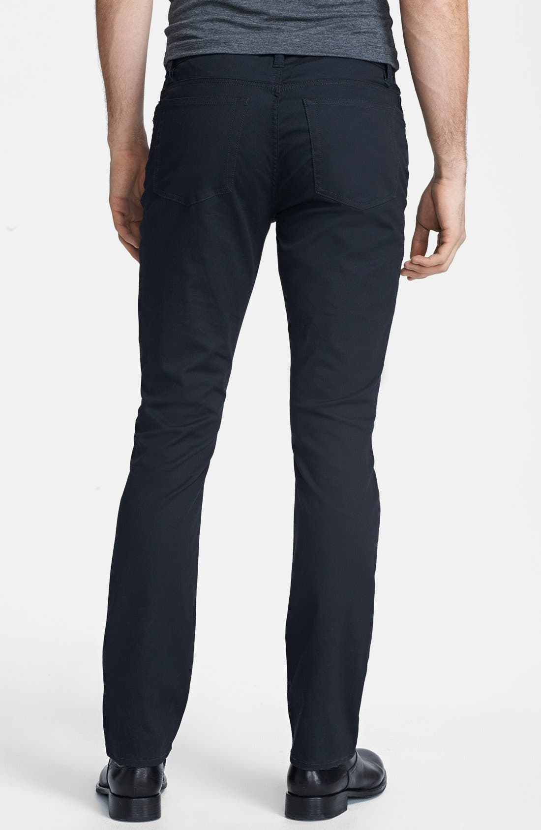 Alternate Image 2  - John Varvatos Star USA 'Bowery' Slim Straight Leg Pants