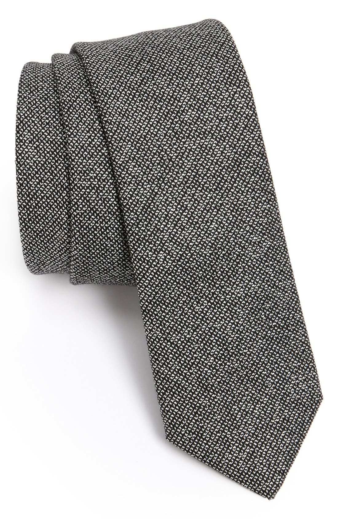 Alternate Image 1 Selected - Lanvin Woven Tie