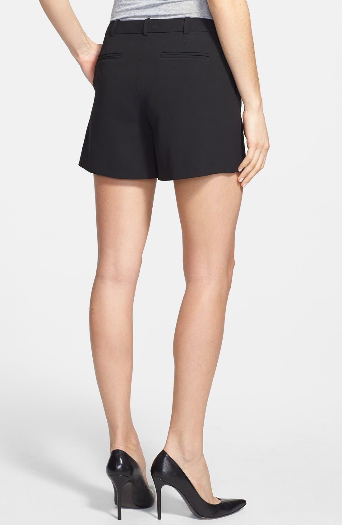 Alternate Image 2  - Halogen® Pleat Front Shorts