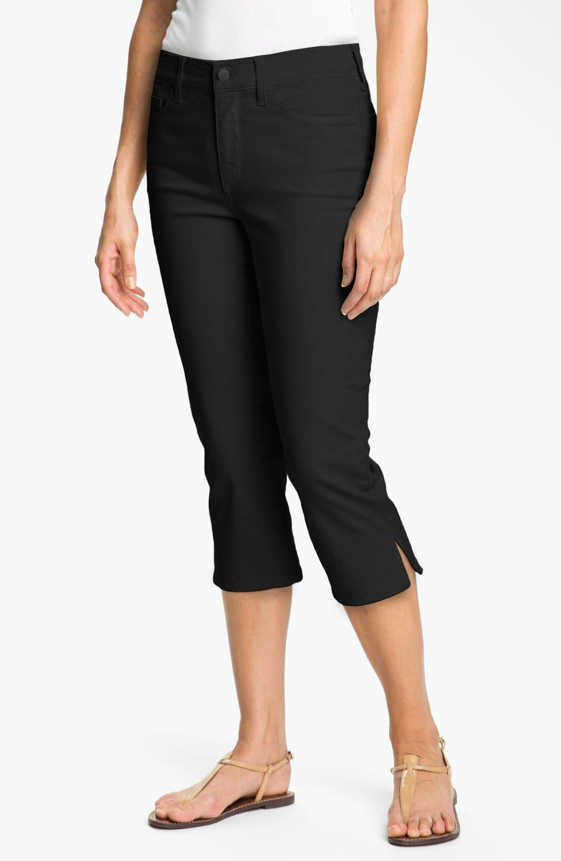 Alternate Image 1 Selected - NYDJ 'Nanette' Stretch Crop Jeans