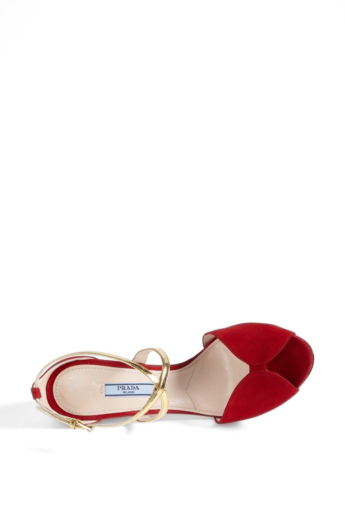 Alternate Image 3  - Prada Crystal Heel Sandal