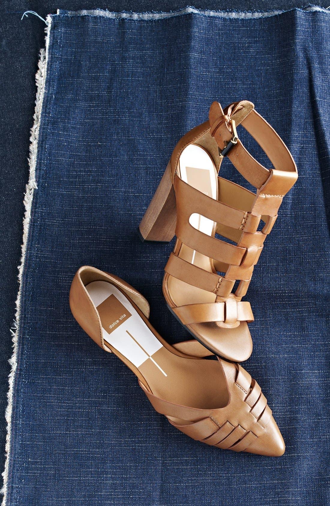Alternate Image 5  - Dolce Vita 'Alpha' Leather Flat Sandal