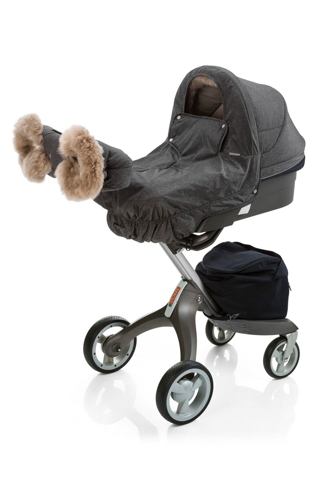 Stroller Winter Kit,                             Main thumbnail 1, color,                             Anthracite Melange