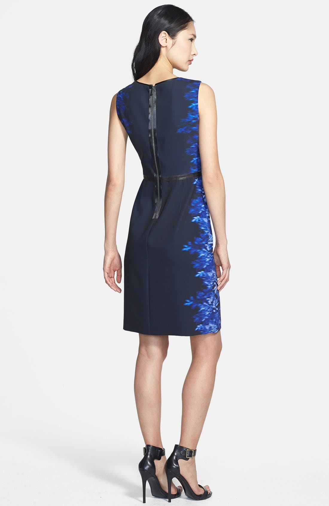 Alternate Image 2  - Elie Tahari 'Beverly' Silk Dress