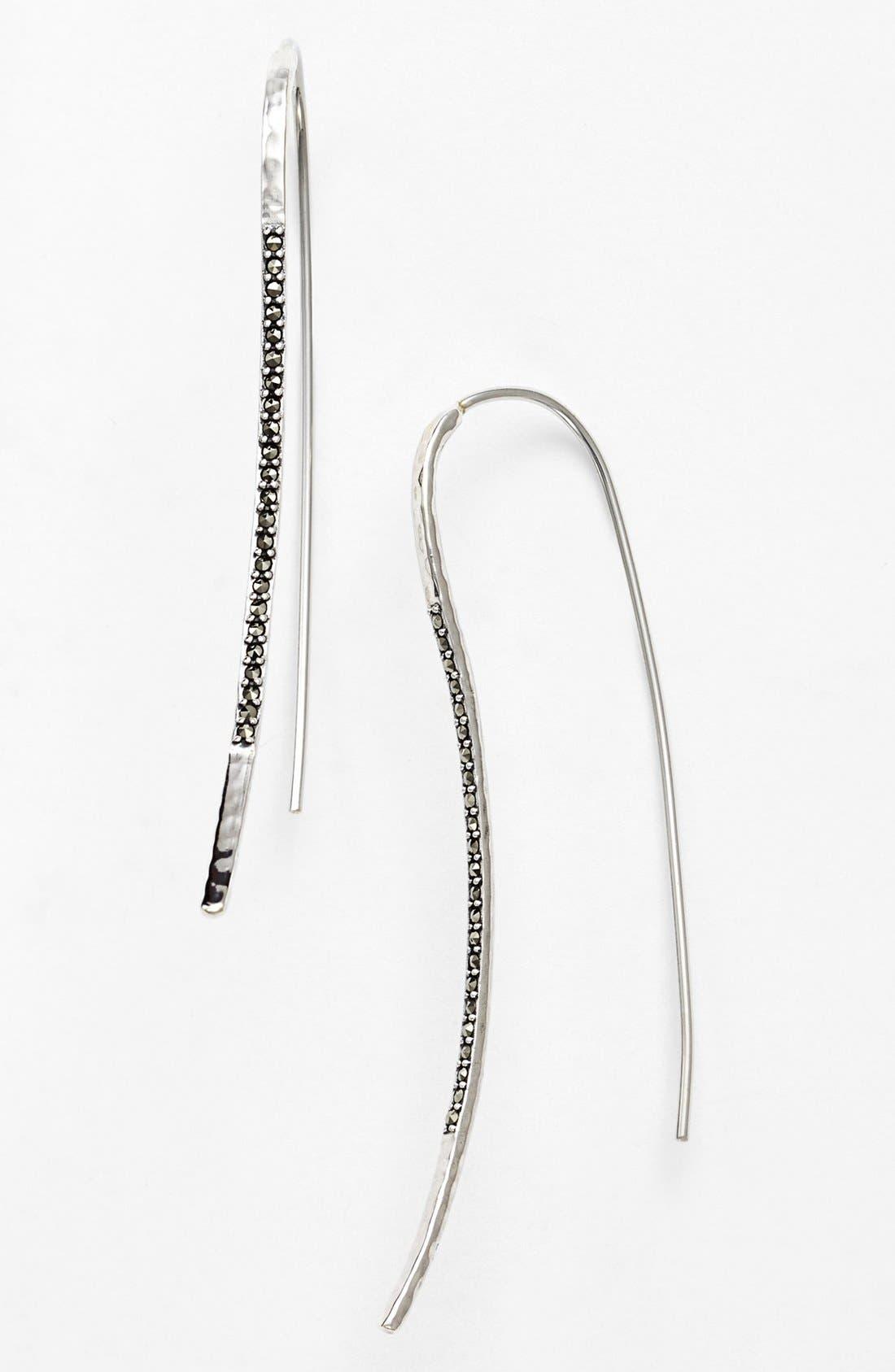 Main Image - Judith Jack Pavé Linear Drop Earrings