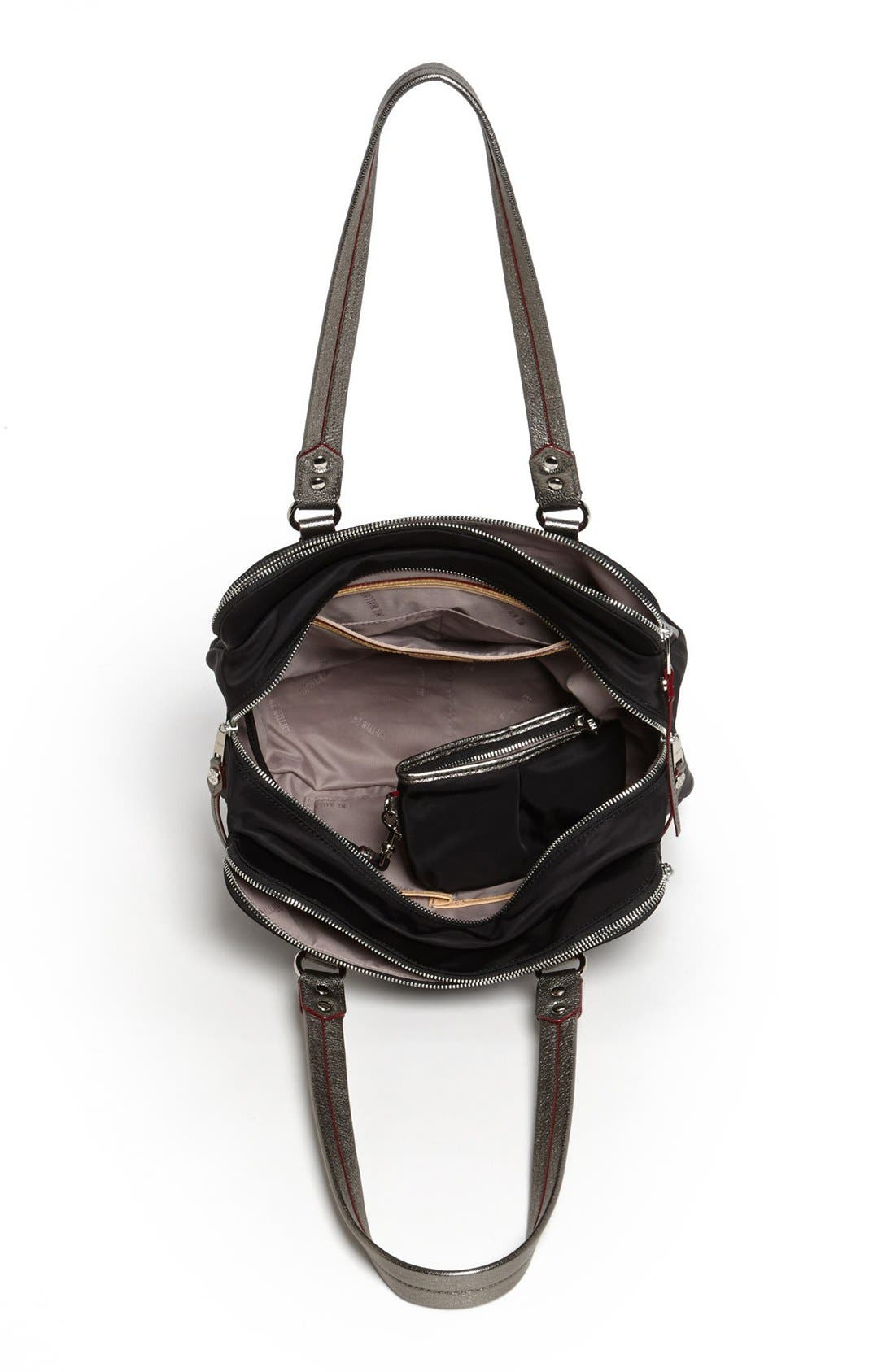 Alternate Image 3  - MZ Wallace 'Tribeca' Bedford Nylon Satchel