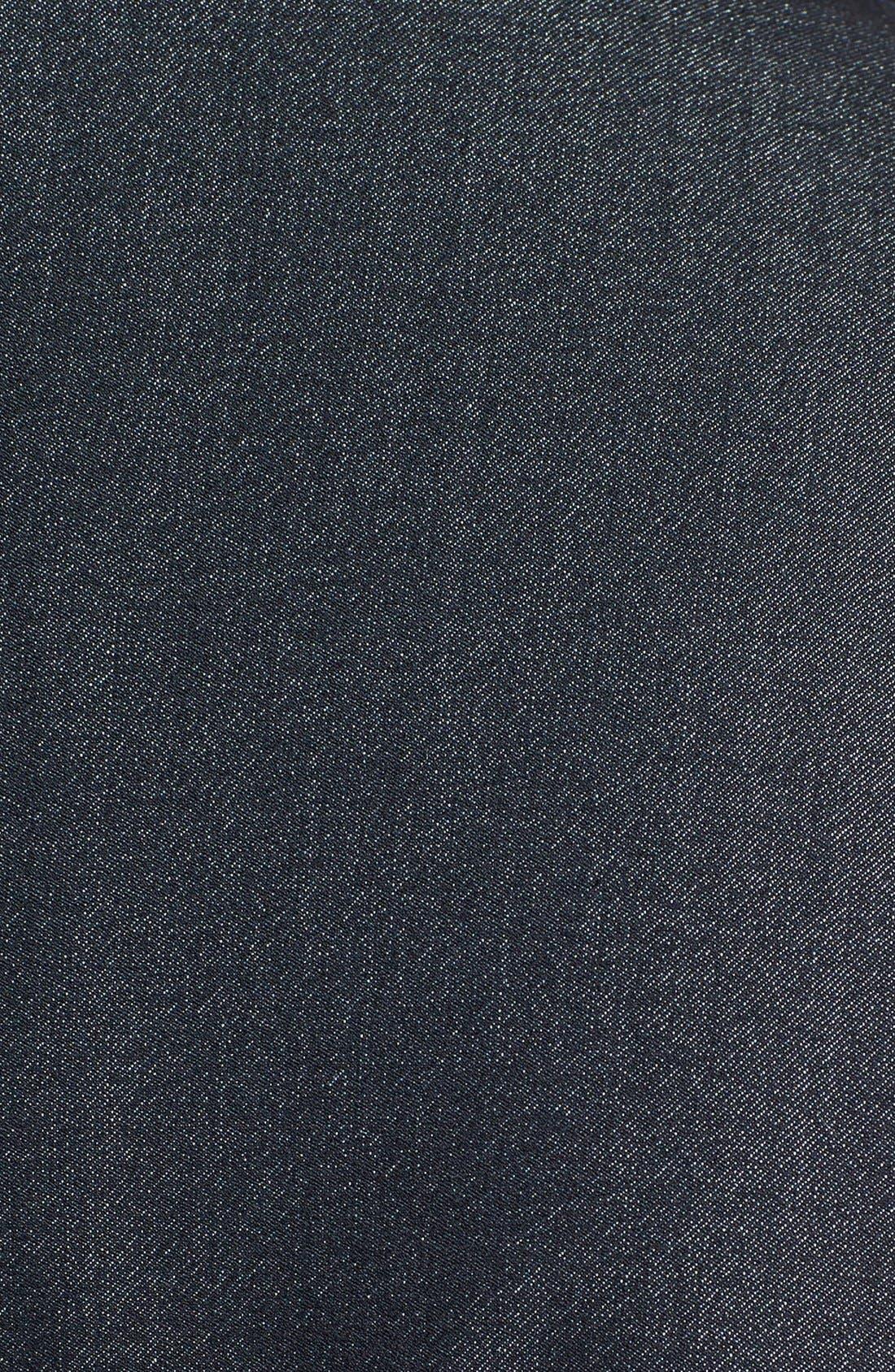Alternate Image 3  - Calvin Klein Sleeveless Tie Waist Shirtdress (Plus Size)