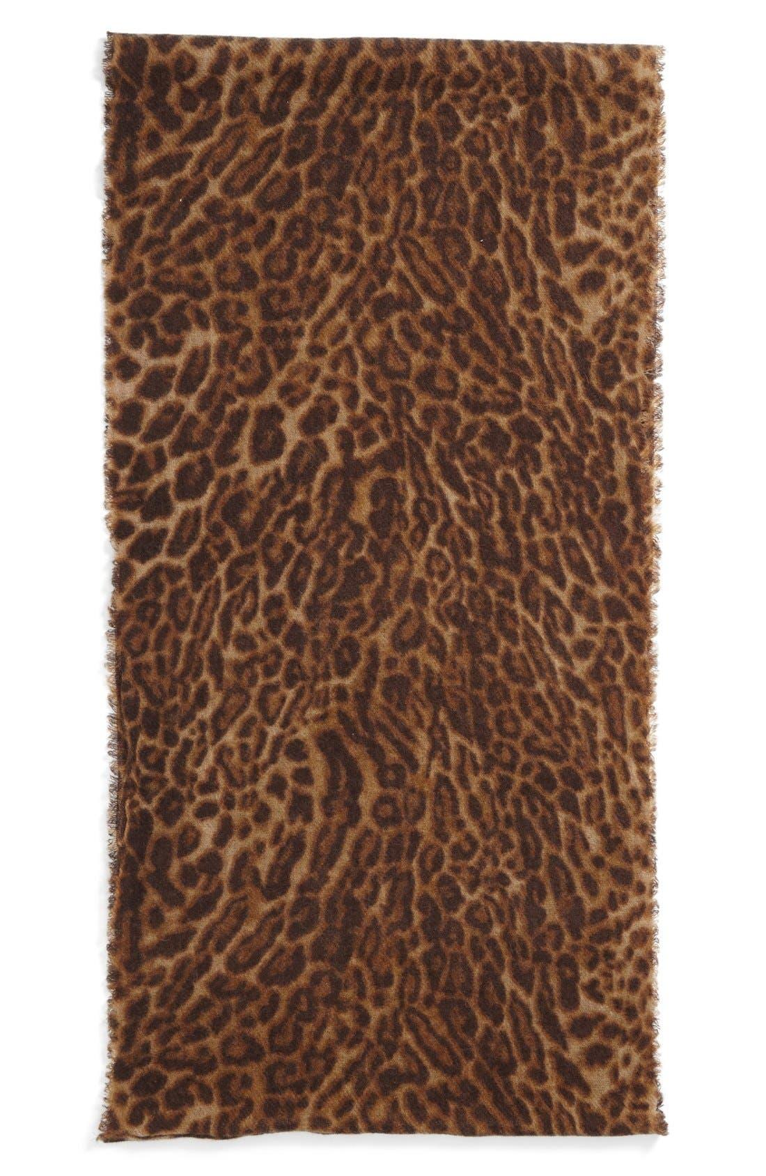 Alternate Image 2  - Lauren Ralph Lauren Wool Infinity Scarf