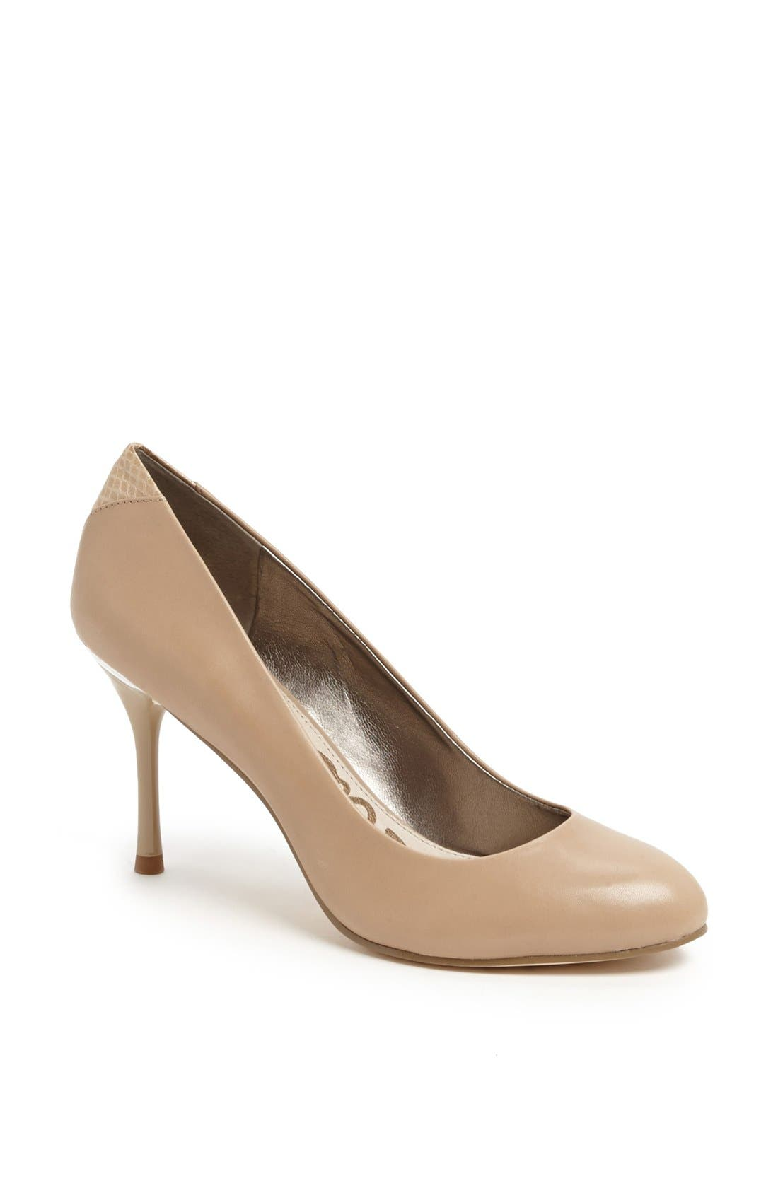 'Camdyn' Pump,                         Main,                         color, Classic Nude Leather