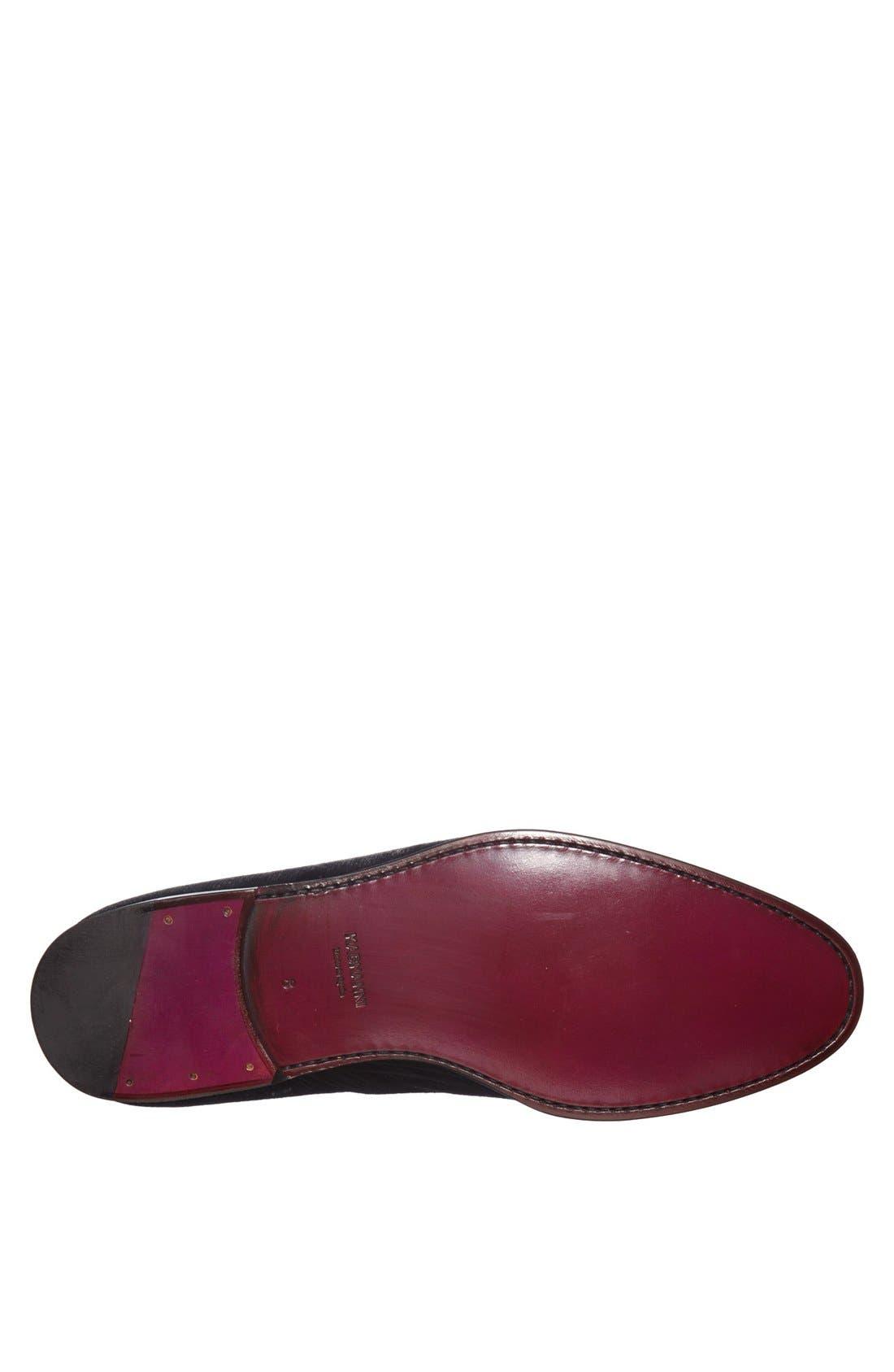 Alternate Image 4  - Magnanni 'Dorio' Velvet Venetian Loafer