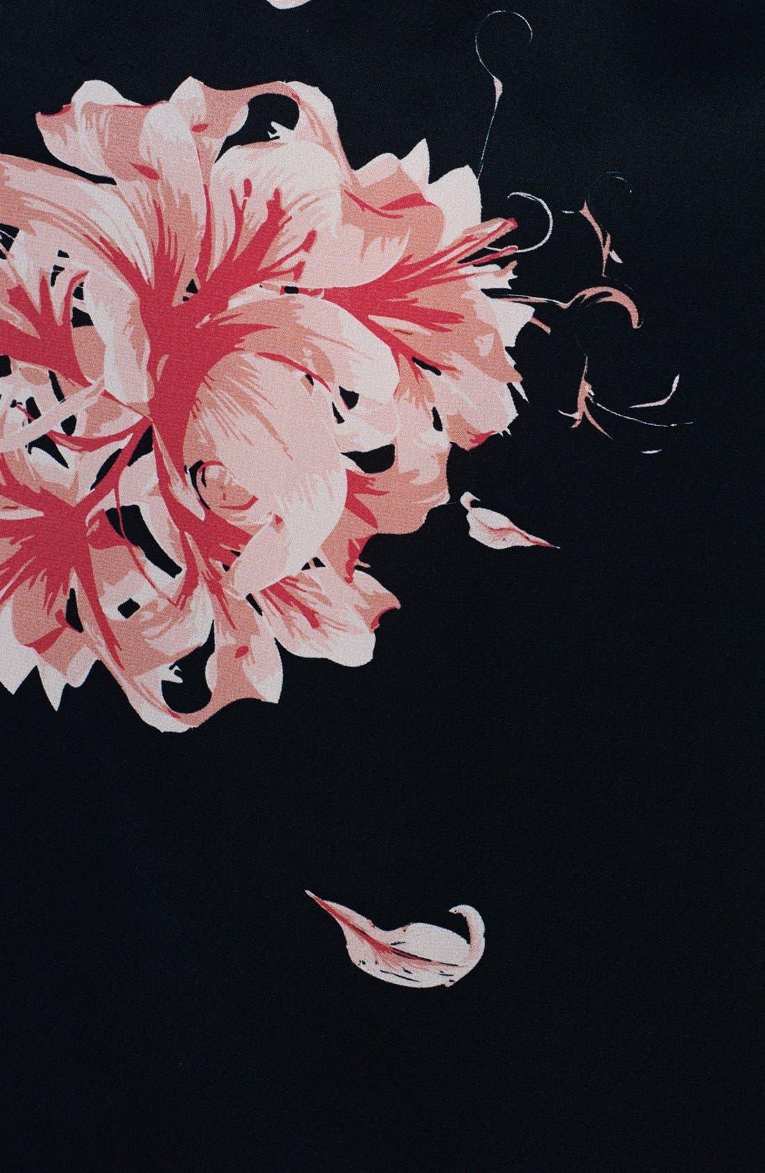 Alternate Image 3  - Jay Godfrey Print Satin Maxi Dress