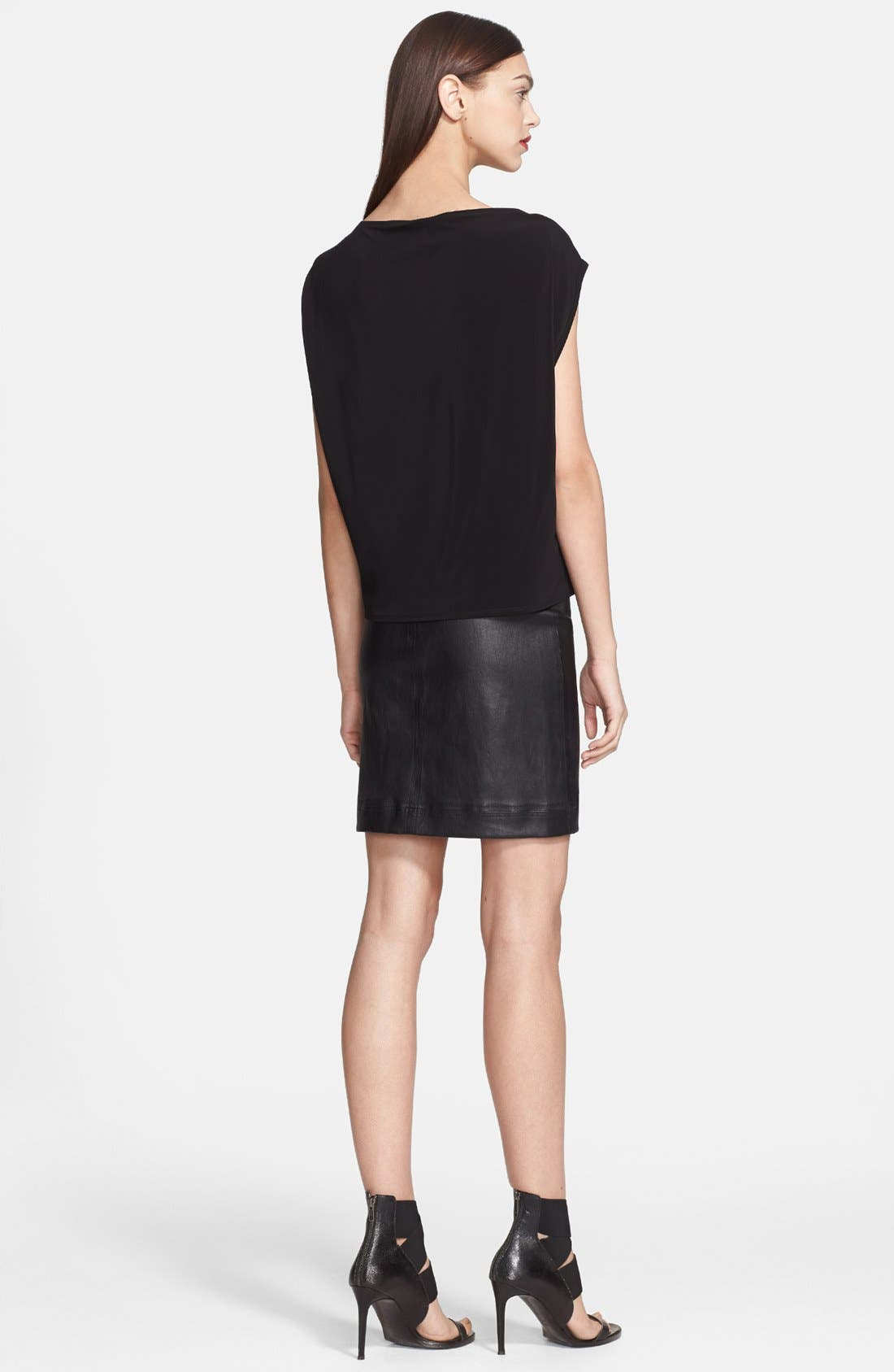 Alternate Image 2  - Helmut Lang 'Faint' Boatneck Top