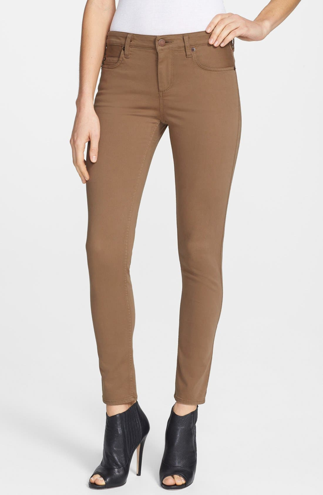 Alternate Image 1 Selected - Theory 'Billy W.' Ankle Stretch Skinny Jeans