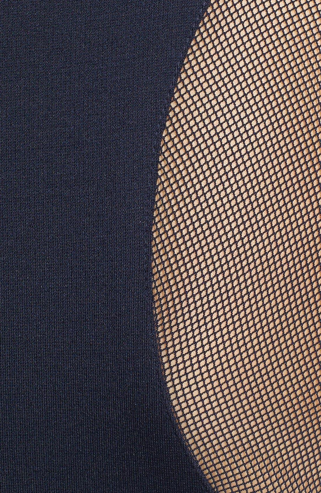 Alternate Image 3  - Vince Camuto Sheer Inset Ponte Dress
