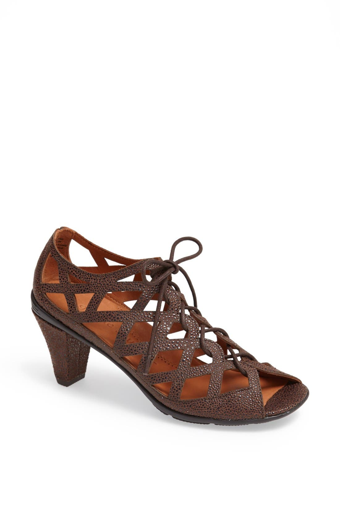 'Okey Dokey' Sandal,                         Main,                         color, Coffee