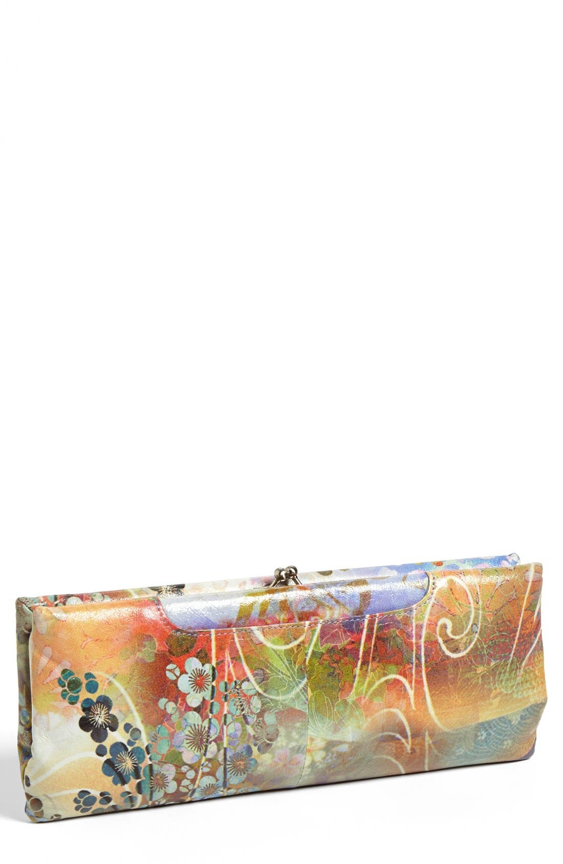 Main Image - Hobo 'Adelyn' Kiss Lock Clutch Wallet