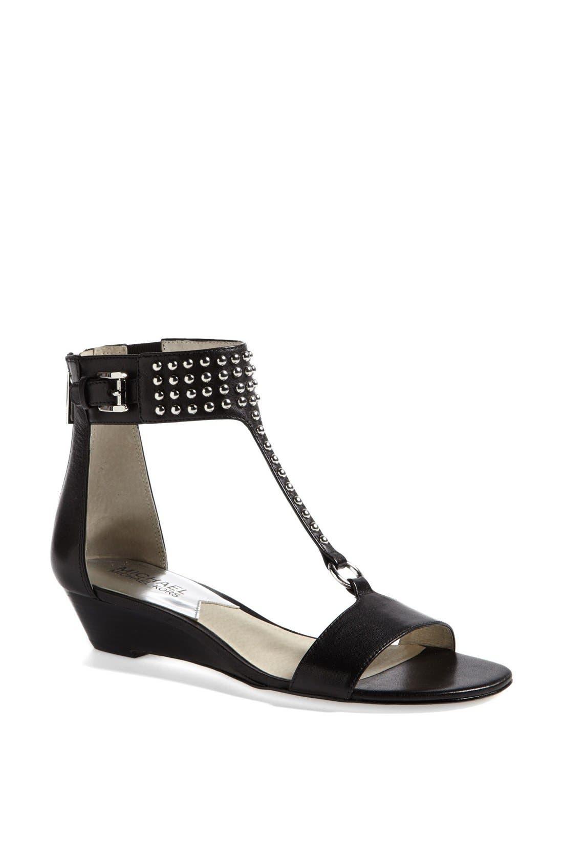 Alternate Image 1 Selected - MICHAEL Michael Kors 'Celena' Wedge Sandal
