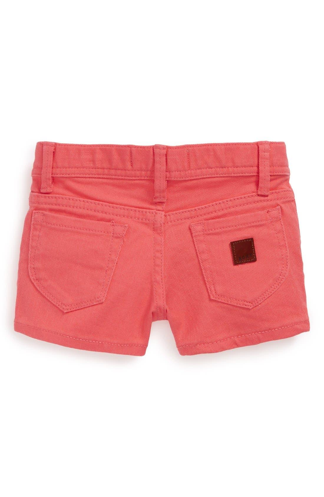 Alternate Image 1 Selected - Roxy 'Lisy' Shorts (Toddler Girls)