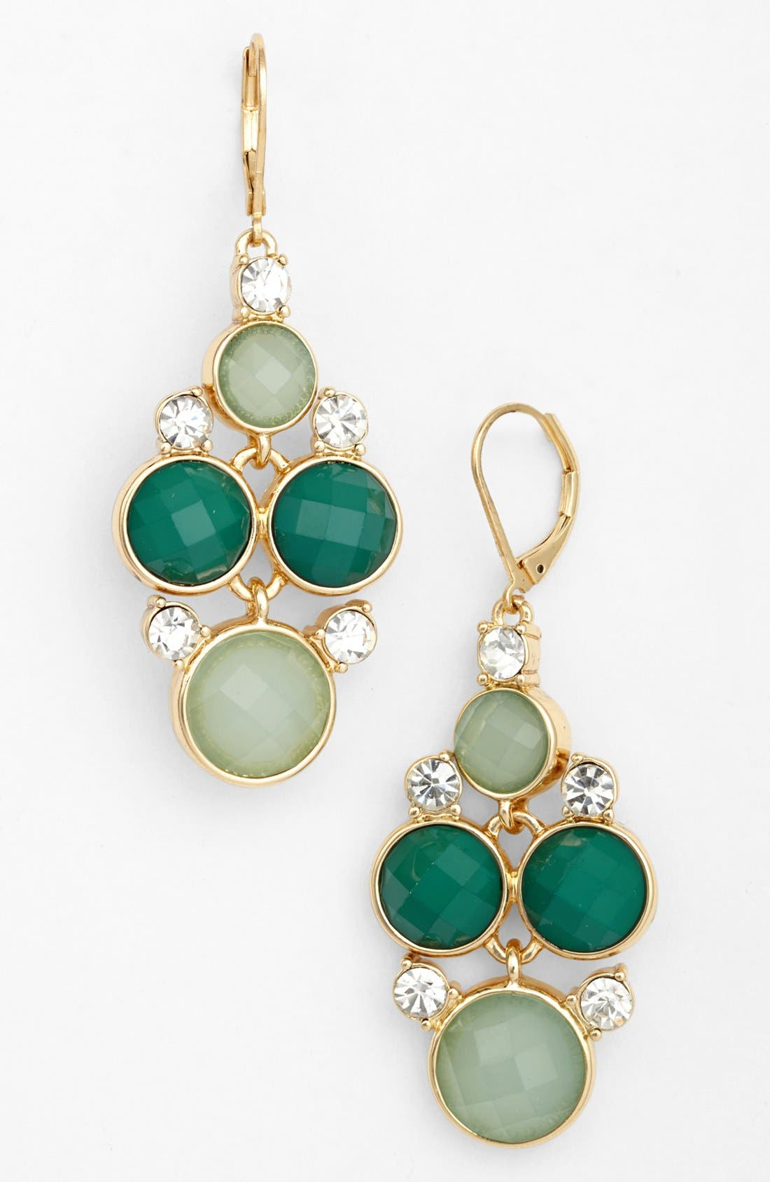 Alternate Image 1 Selected - Anne Klein Chandelier Earrings