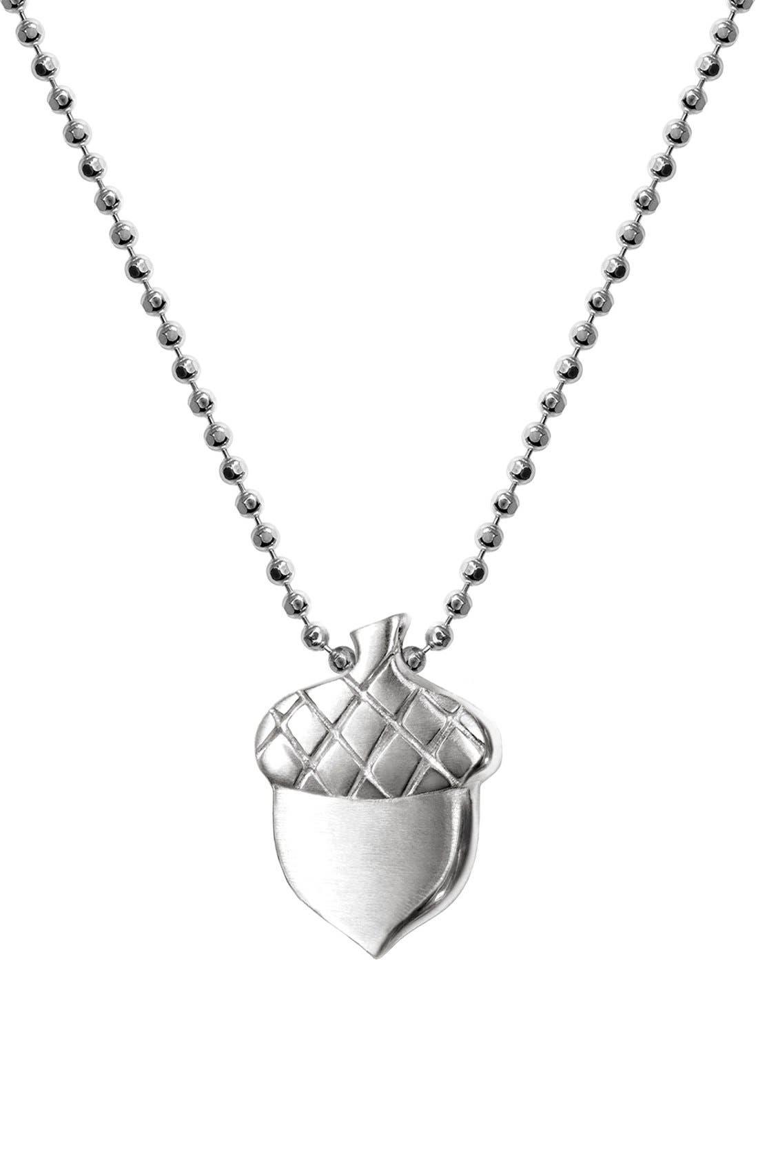 Alternate Image 1 Selected - Alex Woo 'Little Seasons' Acorn Pendant Necklace