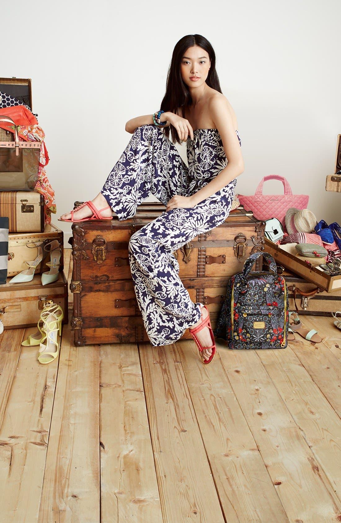 Alternate Image 5  - Holster Fashion 'Supermodel' Jelly Thong Sandal