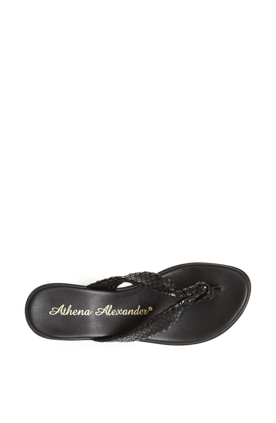 Alternate Image 3  - Athena Alexander 'Ever' Wedge Sandal