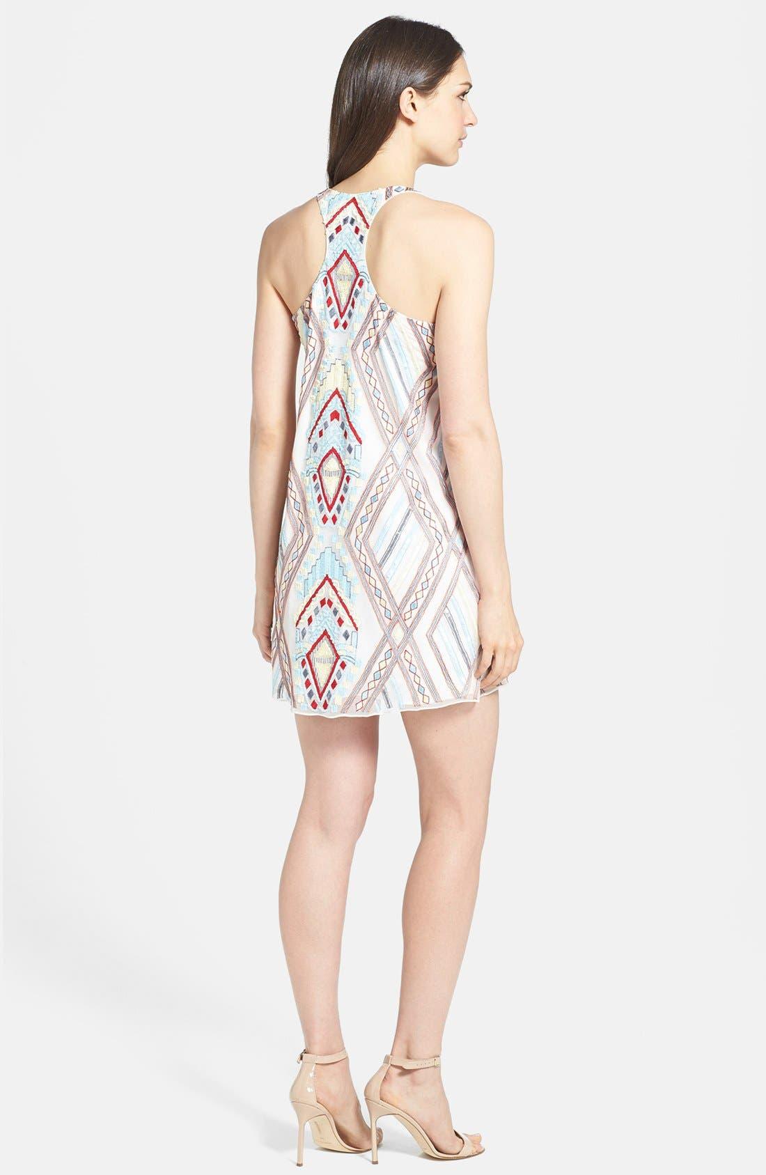 Alternate Image 2  - Parker Mixed Media Sheath Dress