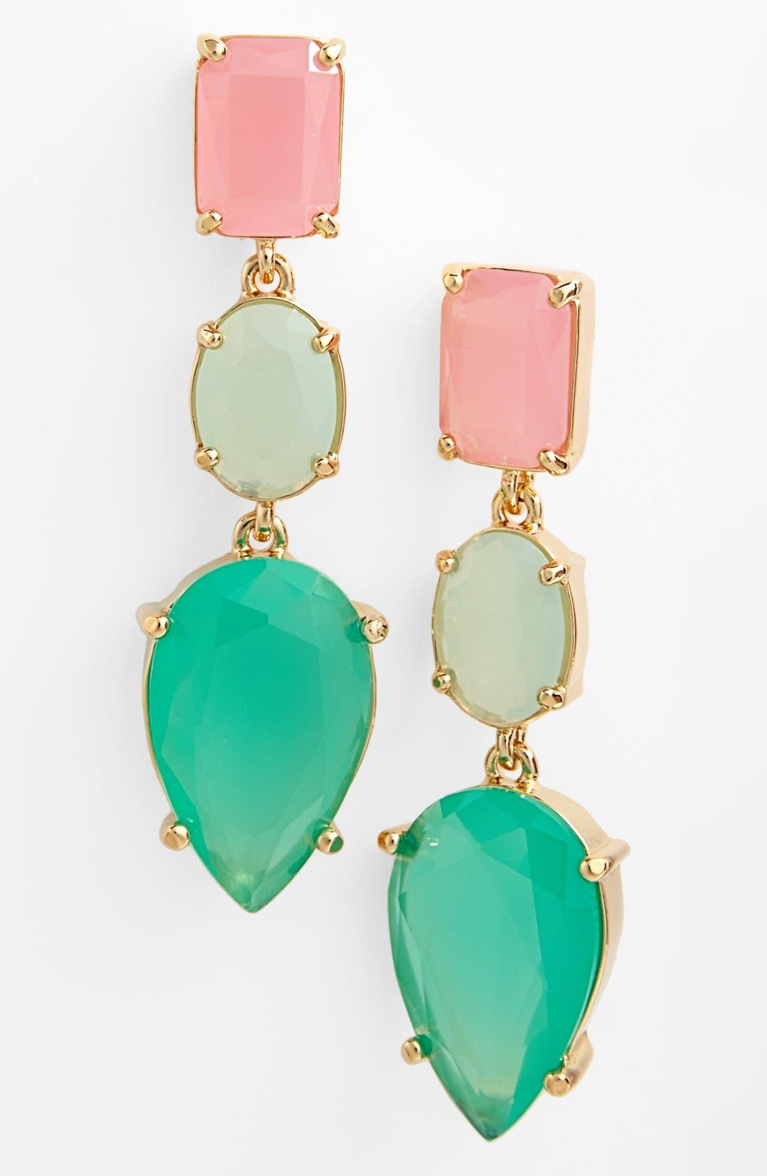 Main Image - kate spade new york 'gumdrop gems' drop earrings