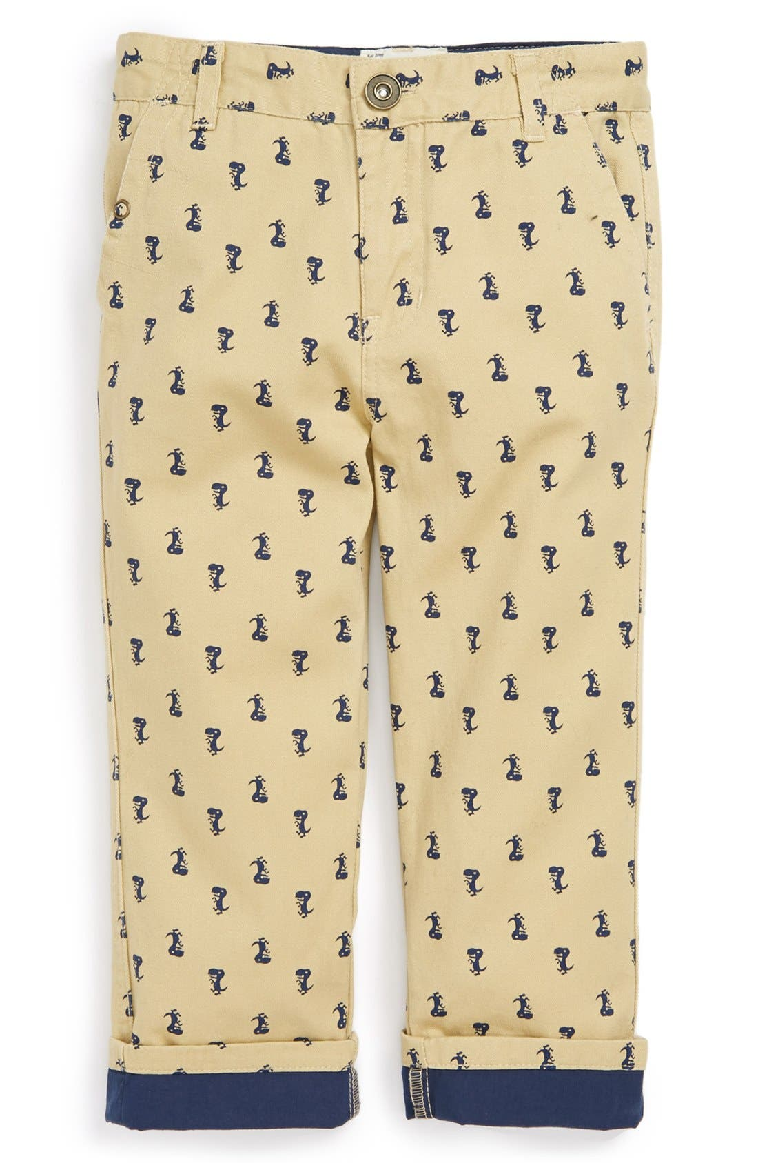 Alternate Image 1 Selected - Sovereign Code 'Flight' Cotton Chinos (Toddler Boys)