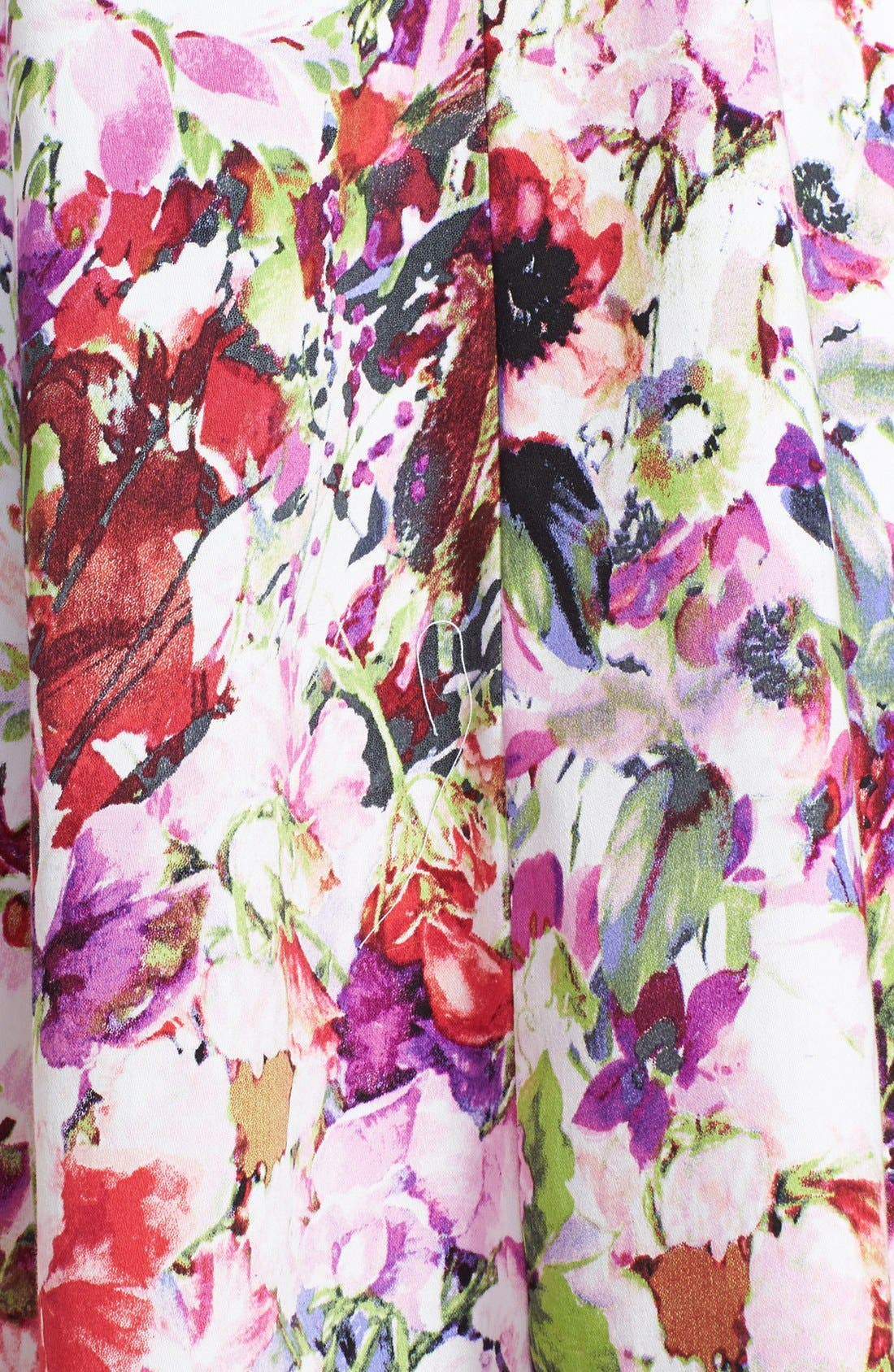 Alternate Image 3  - Maggy London Print Stretch Cotton Fit & Flare Dress